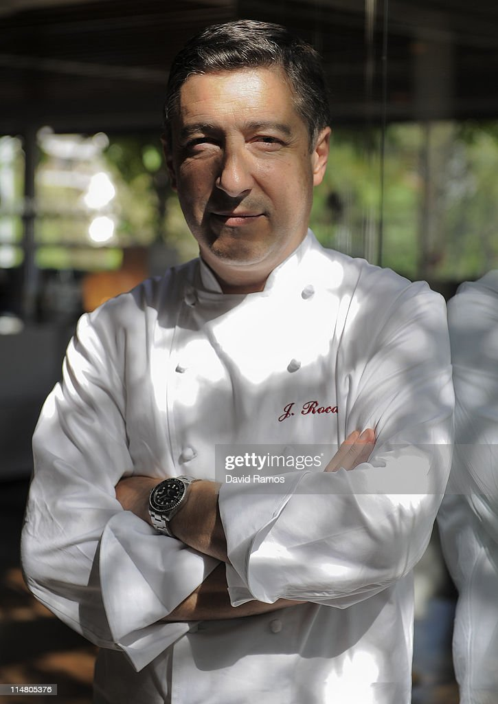 chef joan roca poses for a portrait at the spanish restaurant el celler de can roca