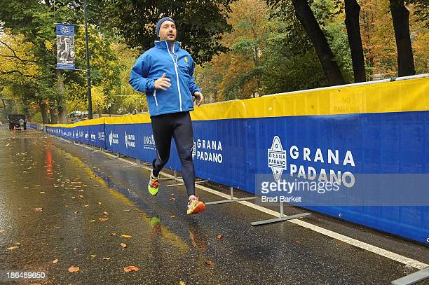 Chef Joe Bastianich attends the Grana Padano Events NYC MArathon Events on October 31 2013 in New York City