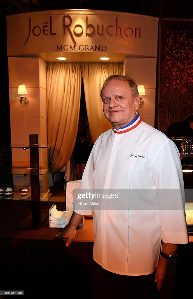 Chef Joel Robuchon attends Vegas Uncork'd by Bon Appetit's Grand Tasting event at Caesars Palace on May 9, 2014 in Las Vegas, Nevada.