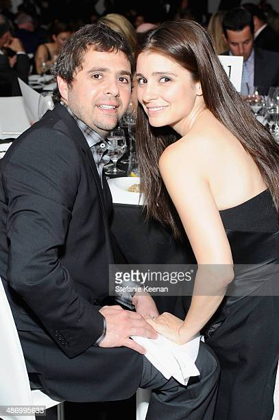 Chef Jon Shook and Shiri Appleby attend LACMA's 2014 Collectors Committee Gala Dinner at LACMA on April 26 2014 in Los Angeles California