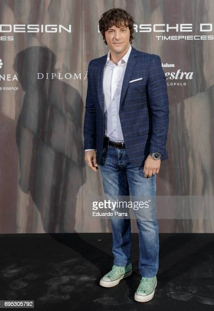 Chef Jordi Cruz attends the 'Icon Design magazine' photocall at Lazaro Galdiano museum on June 12 2017 in Madrid Spain