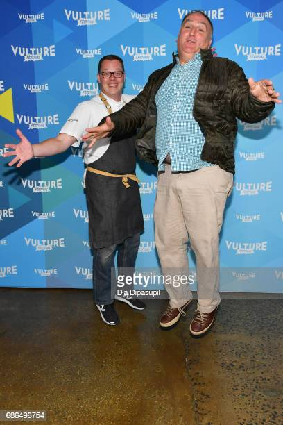 Chef Jose Andres and guest attend the 2017 Vulture Festival at Milk Studios on May 21 2017 in New York City
