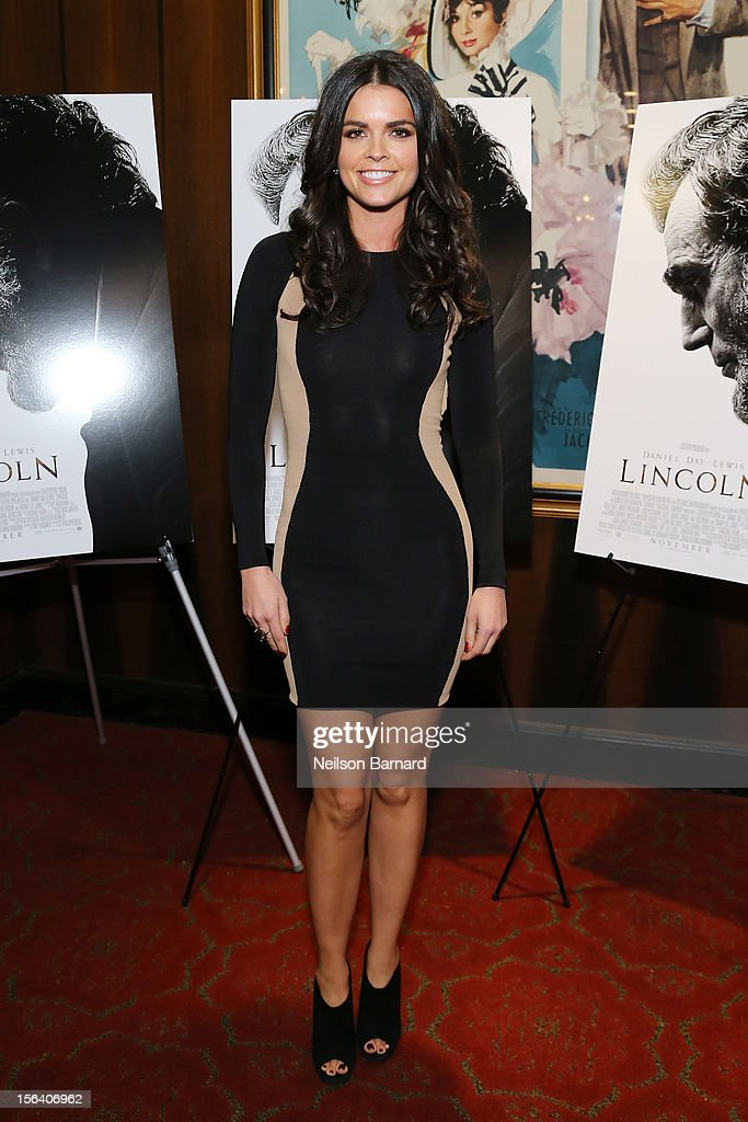 Chef Katie Lee attends the special screening of Steven Spielberg's Lincoln at the Ziegfeld Theatre on November 14, 2012 in New York City.