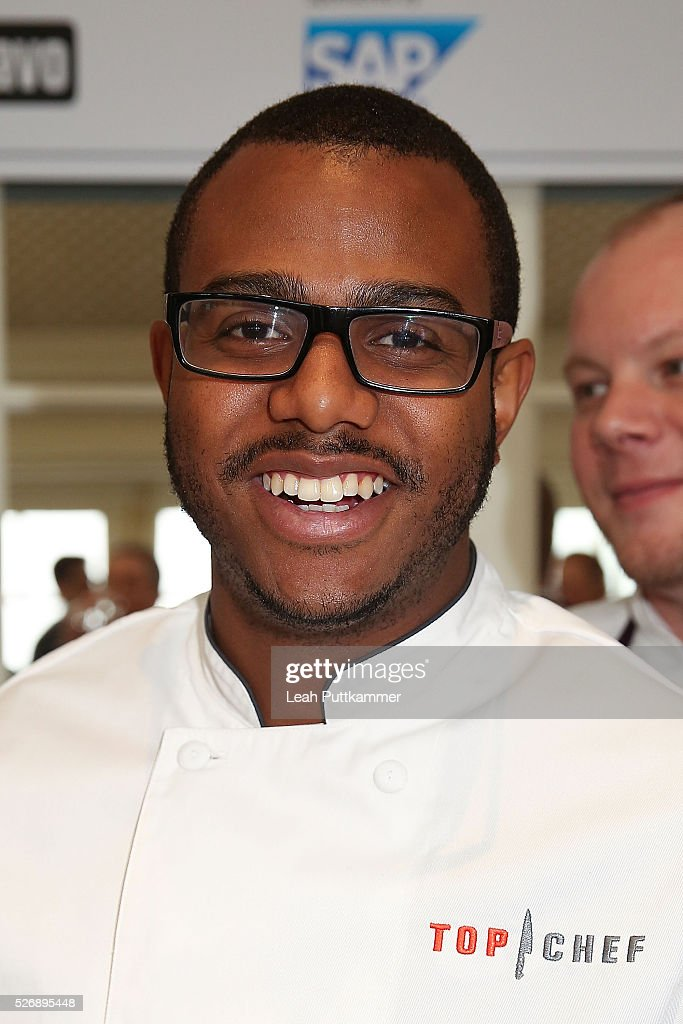 Chef Kwame Onwuachi attends the 2016 Thomson Reuters Correspondents' Brunch at the Hay-Adams Hotel on May 01, 2016 in Washington, DC.