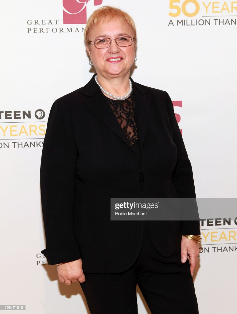 Chef Lidia Bastianich attends the THIRTEEN 50th Anniversary Gala Salute at David Koch Theatre at Lincoln Center on November 15, 2012 in New York City.