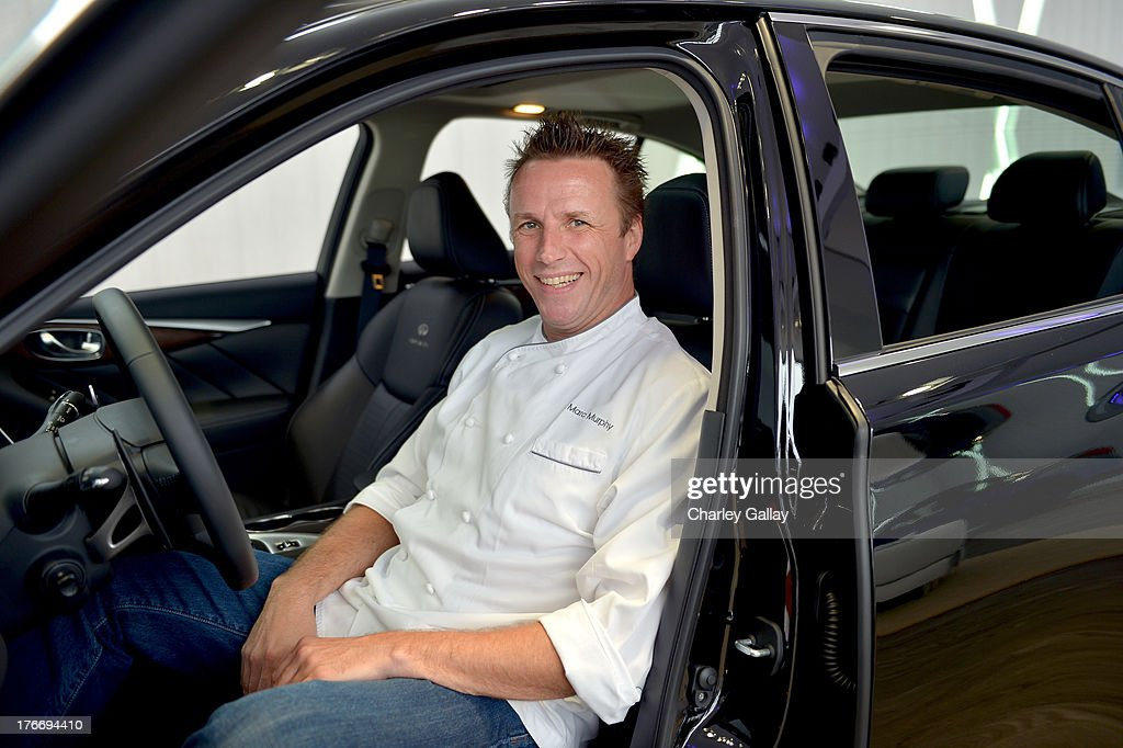 Chef Marc Murphy attends day 2 of Moments of Inspiration presented by Infiniti in partnership with Hearst Magazines on August 16, 2013 in Pebble Beach, California.
