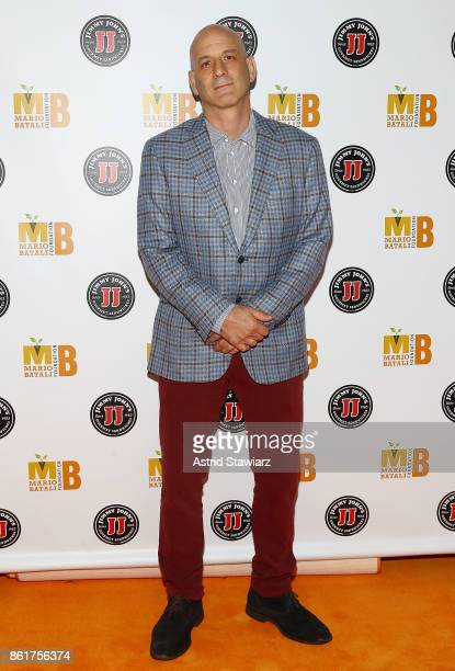 Chef Marc Vetri attends 6th Annual Mario Batali Foundation Honors dinner at Del Posto on October 15 2017 in New York City