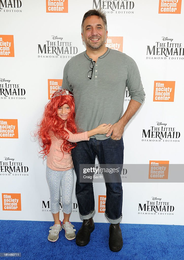 Chef Marco Canora (R) attends Disney's The Little Mermaid special screening at Walter Reade Theater on September 21, 2013 in New York City.
