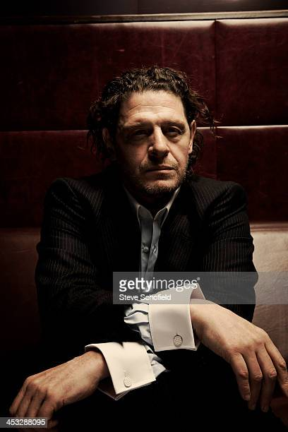 Chef Marco Pierre White is photographed on October 10 2009 in London England