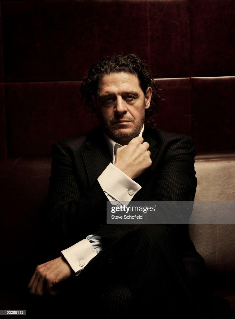 Marco Pierre White, Portrait shoot, October 10, 2009