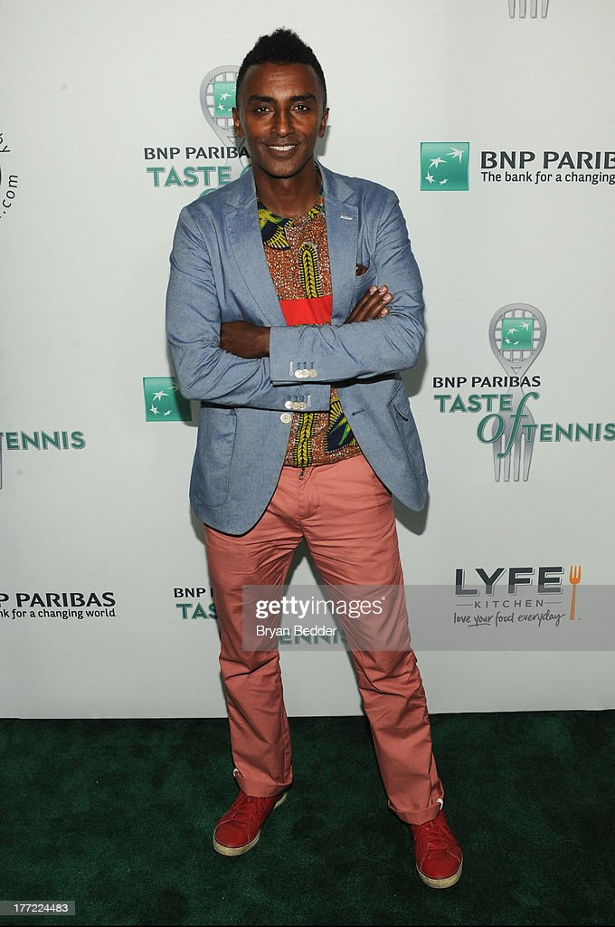 Chef Marcus Samuelsson attends the 14th Annual BNP Paribas Taste Of Tennis at W New York Hotel on August 22, 2013 in New York City.