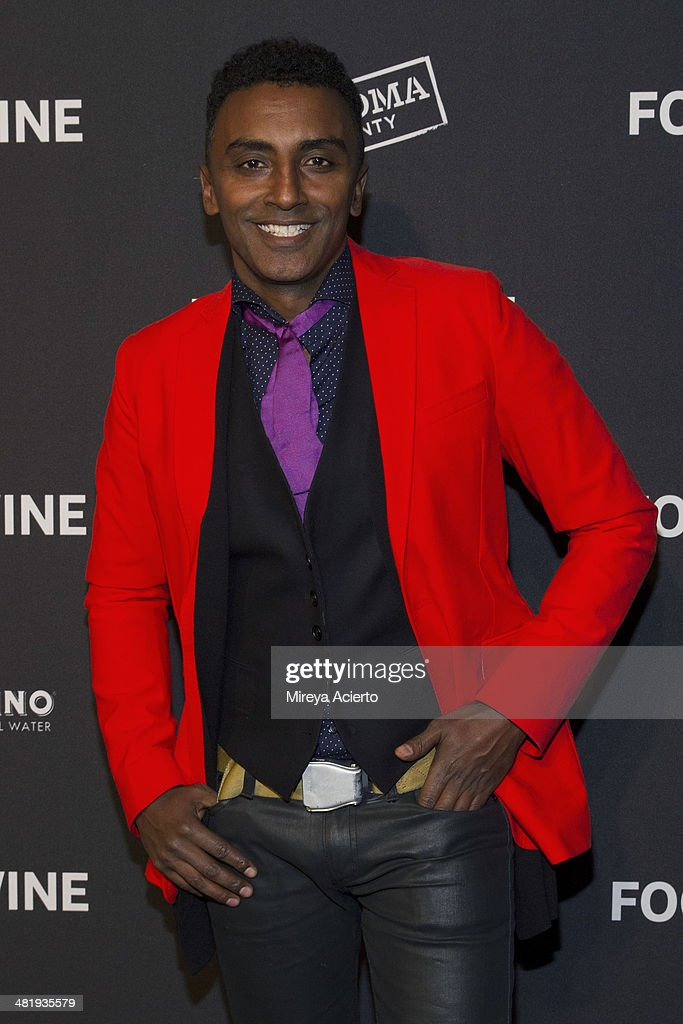 Chef <a gi-track='captionPersonalityLinkClicked' href=/galleries/search?phrase=Marcus+Samuelsson&family=editorial&specificpeople=2143367 ng-click='$event.stopPropagation()'>Marcus Samuelsson</a> attends the 2014 FOOD & WINE Best New Chefs Party at Powerhouse at The American Museum of Natural History on April 1, 2014 in New York City.