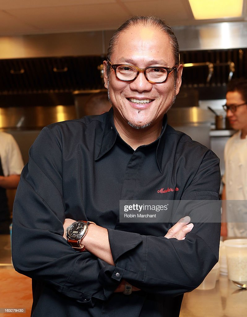 Chef Masaharu Morimoto attends the 2013 Dinner For A Better New York at Riverpark Restaurant on March 6, 2013 in New York City.