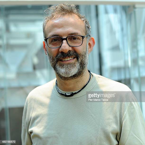 Chef Massimo Bottura poses during the portrait sesion on June 6 2014 in Milan Italy