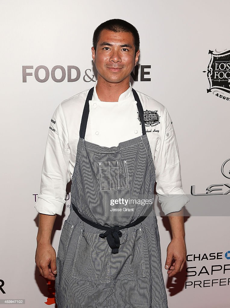 Chef Michael Hung attends Ultimate Bites of L.A. Presented by Chase Sapphire Preferred, Hosted by Chef Graham Elliot & Fabio Viviani on August 21, 2014 in Los Angeles, California.