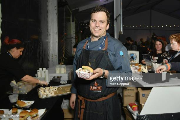 Chef Michael Reilly from The NoMad Bar attends the Food Network Cooking Channel New York City Wine Food Festival Presented By CocaCola Blue Moon...