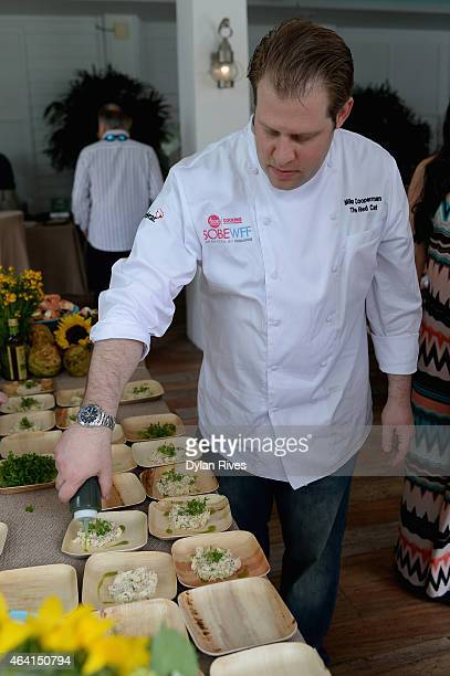 Chef Mike Cooperman attends Farm To Table Brunch presented by Whole Foods Market hosted by Geoffrey Zakarian Julie Frans Friends during the 2015 Food...