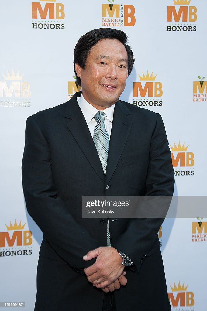Chef Ming Tsai attends The Mario Batali Foundation Inaugural Honors Dinner at Del Posto Ristorante on September 9, 2012 in New York City.