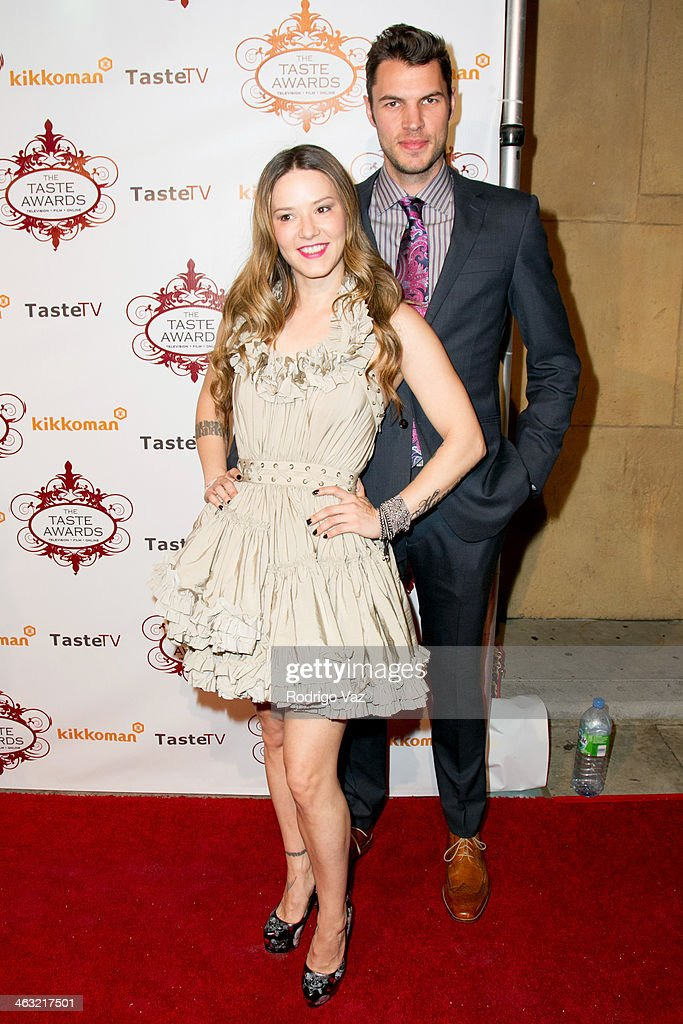 Chef Nadia Giosia (L) attends the 5th Annual Taste Awards at the Egyptian Theatre on January 16, 2014 in Hollywood, California.