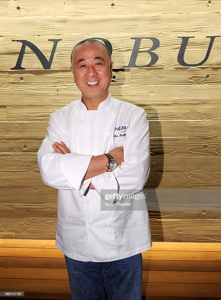 Chef Nobuyuki Matsuhisa hosts a private dinner at Nobu Malibu to celebrate Delta Air Lines' Nonstop NYC challenge on Feb. 4, 2013 in Los Angeles, California.