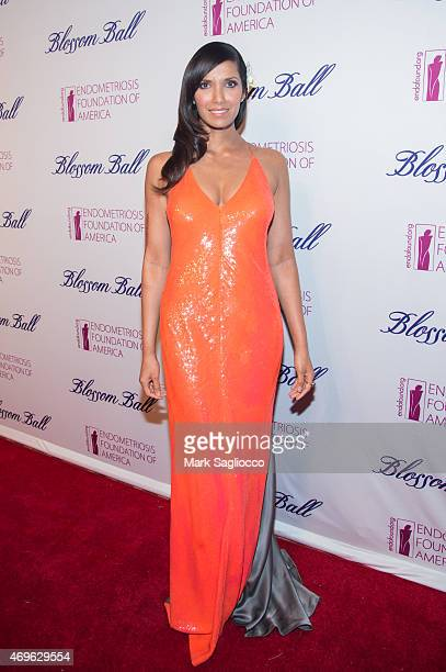 Chef Padma Lakshmi attends the Endometriosis Foundation of America's 7th Annual Blossom Ball at Cipriani Downtown on April 13 2015 in New York City
