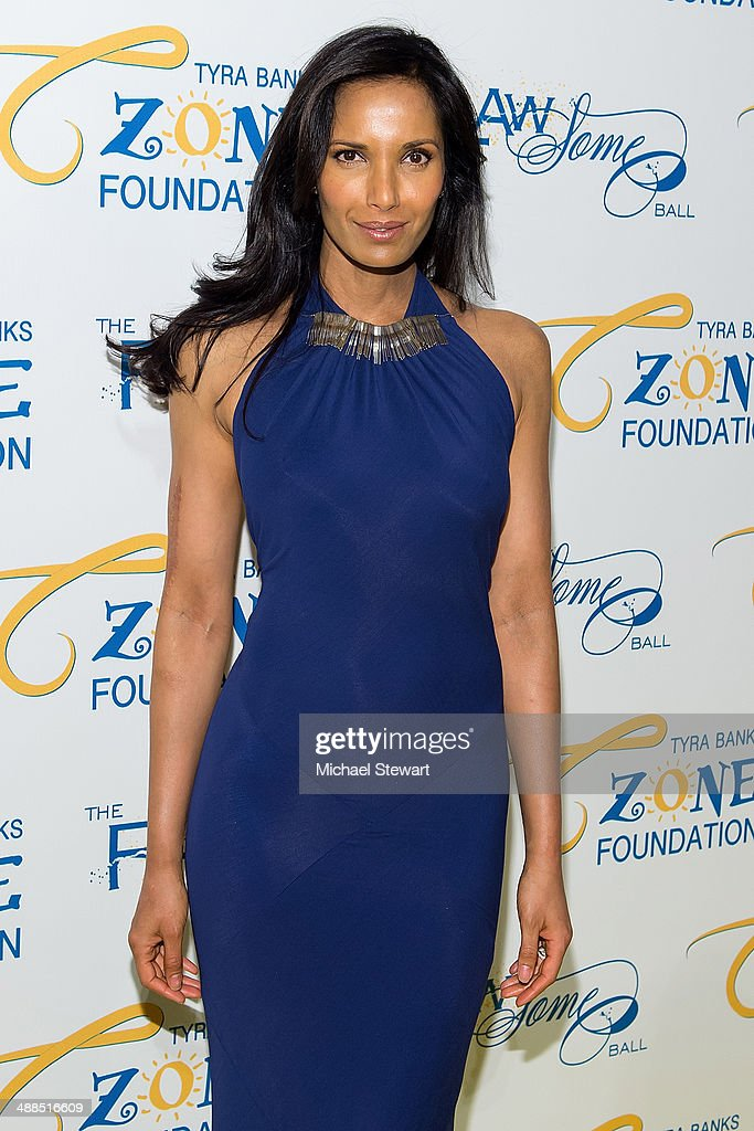 Chef Padma Lakshmi attends Tyra Banks' Flawsome Ball 2014 at Cipriani Wall Street on May 6, 2014 in New York City.