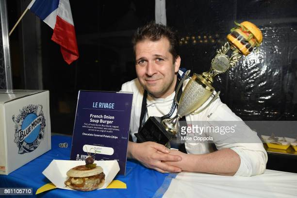 Chef Paul Denamiel of Judge's Choice Winner Le Rivage attends the Food Network Cooking Channel New York City Wine Food Festival Presented By CocaCola...