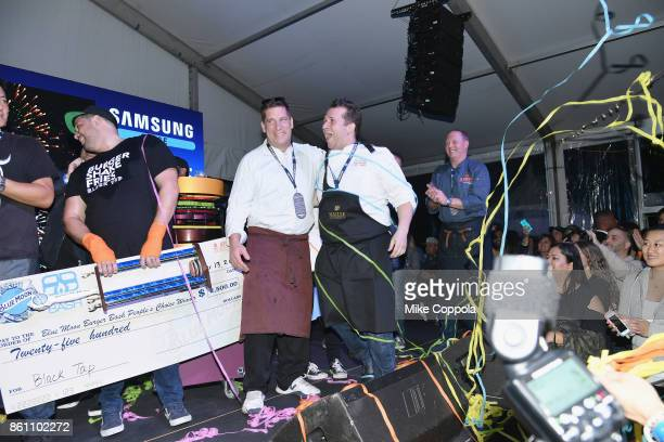 Chef Paul Denamiel of Le Rivage wins Judge's Choice at the Food Network Cooking Channel New York City Wine Food Festival Presented By CocaCola Blue...