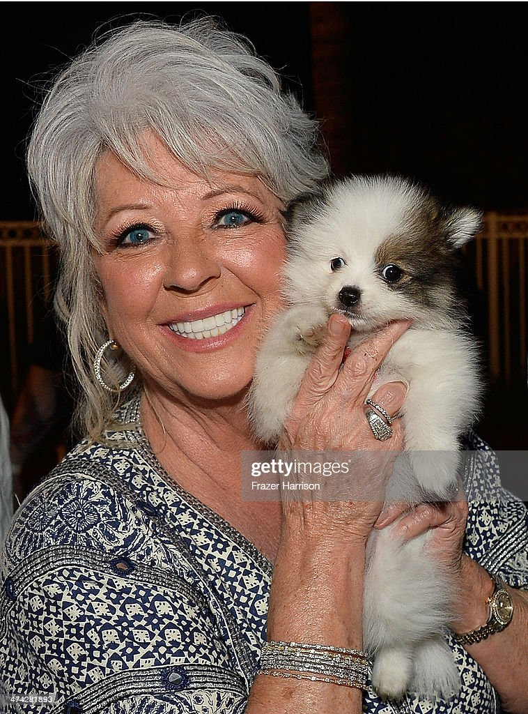 Chef <a gi-track='captionPersonalityLinkClicked' href=/galleries/search?phrase=Paula+Deen&family=editorial&specificpeople=875895 ng-click='$event.stopPropagation()'>Paula Deen</a> attends the Thrillist's BBQ & The Blues hosted by Bobby Deen during the Food Network South Beach Wine & Food Festival at Eden Roc Hotel on February 22, 2014 in Miami Beach, Florida.