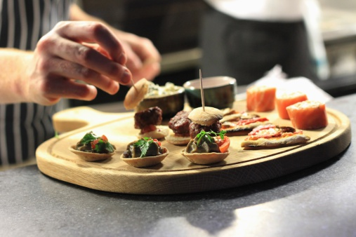 Canape stock photos and pictures getty images for Canape platters