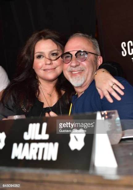 Chef Rachael Ray and Emilio Estefan attend Heineken Light Burger Bash Presented by Schweid Sons Hosted by Rachael Ray on February 24 2017 in Miami...