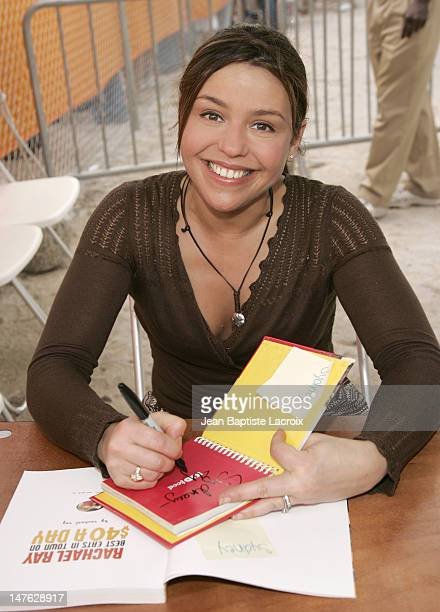 Chef Rachael Ray during 2006 South Beach Wine Food Festival Grand Tasting Day 2 at Ocean Drive in Miami Beach United States