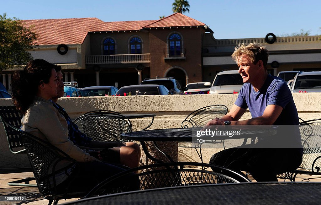Chef Ramsay (R) in the 'Amy's Baking Company' season finale episode of KITCHEN NIGHTMARES airing Friday, May 10, 2013 (8:00-9:00 PM ET/PT) on FOX.