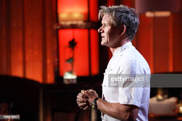 Chef Ramsay in the first part of the special twohour '10 Chefs Compete/ 9 Chefs Compete' episode of HELL'S KITCHEN airing Tuesday May 13 2013 on FOX