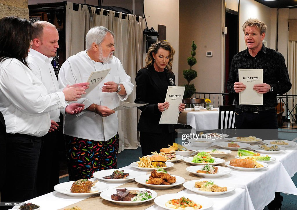 Chef Ramsay (R) visits Nashville, TN in the 'Chappy's' episode of KITCHEN NIGHTMARES airing Friday, May 3, 2013 (8:00-9:00 PM ET/PT) on FOX.