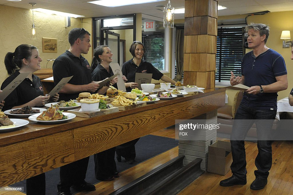 Chef Ramsay visits Norwalk, Ohio's 'Mill Street Bistro' in an all-new episode of KITCHEN NIGHTMARES airing Friday, February 22, 2013 (8:00-9:00 PM ET/PT) on FOX.
