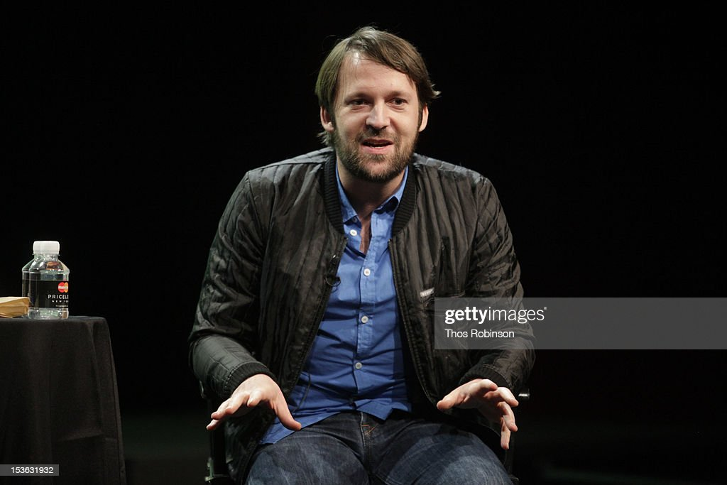 Chef Rene Redzepi attends The New Yorker Festival 2012 - In Conversation - Rene Redzepi And Jane Kramer at SVA Theatre on October 7, 2012 in New York City.