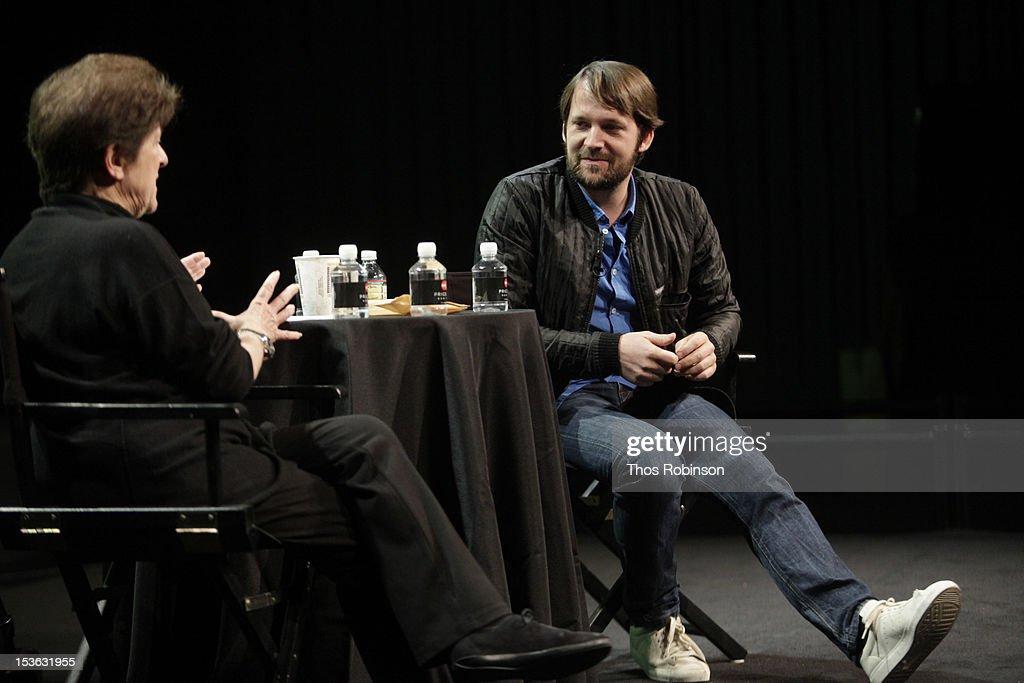 Chef Rene Redzepi attends The New Yorker Festival 2012 - In Conversation - Rene Redzepi And Jane Kramer at SVA Theatre on October 7, 2012 in New York City.