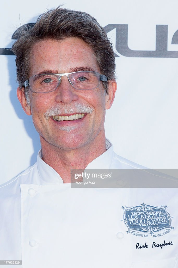Chef Rich Bayless attends LEXUS Live On Grand at the 3rd Annual Los Angeles Food & Wine Festival arrivals on August 24, 2013 in Los Angeles, California.