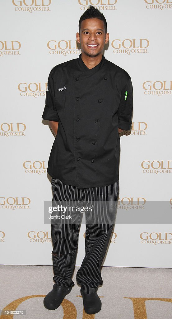 Chef Roble attends Gabrielle Union's 40th Birthday Party With Courvoisier Gold at the Dream Downtown on October 22, 2012 in New York City.