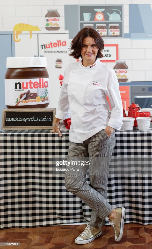 Samantha Vallejo-Nagera Attends Nutella Photocall