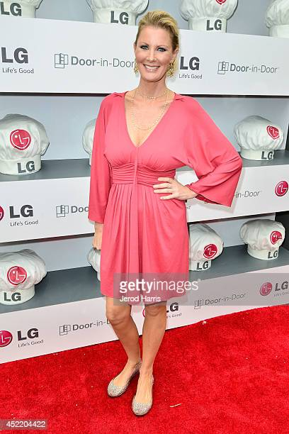 Chef Sandra Lee attends LG and Chef Sandra Lee Host LG Junior Chef Academy to celebrate the launch of the DoorinDoor Refrigerator with CustomChill...