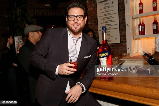 Chef Scott Conant attends Aperitivo hosted by Scott Conant at The Standard High Line on October 13 2017 in New York City