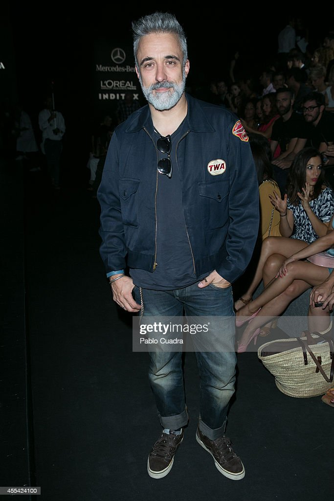 Chef Sergi Arola attends Mercedes Benz Fashion Week Madrid at Ifema on September 14 2014 in Madrid Spain