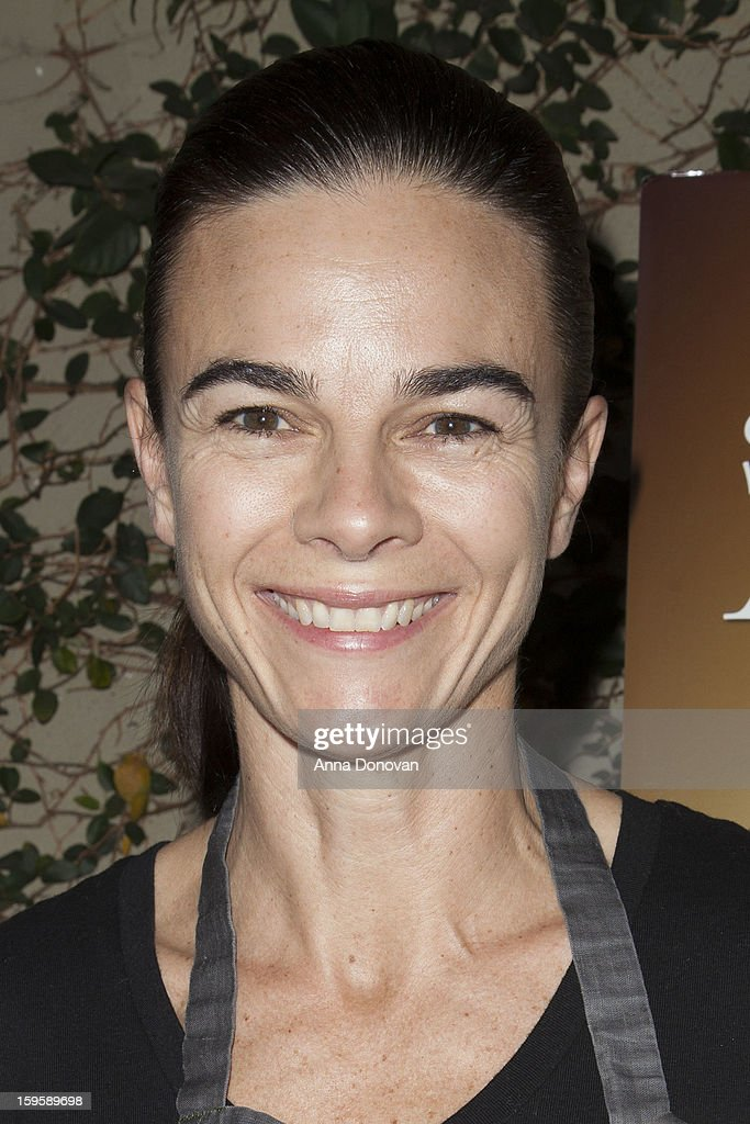 Chef Suzanne Goin attend the 19th Annual SAG Awards 2013 Menu Tasting Lucque Restaurant at Lucques Restaurant on January 16, 2013 in Los Angeles, California.