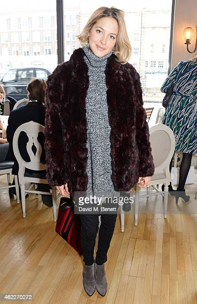 Chef Tess Ward attends 'Affirmation Mondays' hosted by Poppy Jamie and Greta Bellamacina at Aubaine on January 26 2015 in London England