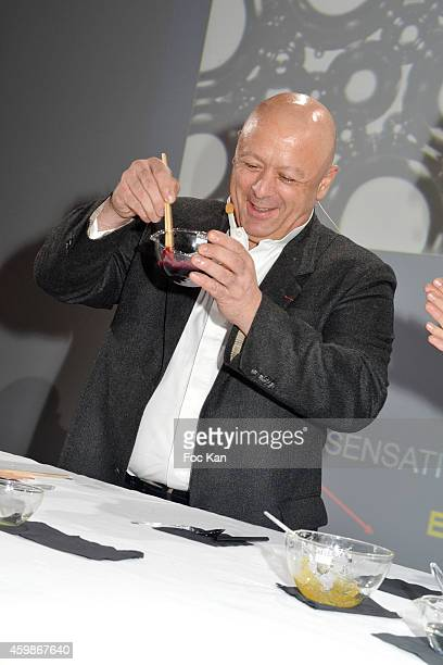 Chef Thierry Marx attends the 'Trophees INPI de L'Innovation 2014' At Parc Andre Citroen on December 2 2014 in Paris France