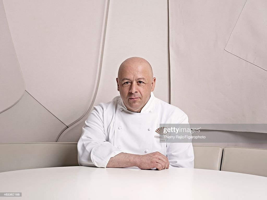Chef <a gi-track='captionPersonalityLinkClicked' href=/galleries/search?phrase=Thierry+Marx&family=editorial&specificpeople=4584729 ng-click='$event.stopPropagation()'>Thierry Marx</a> is photographed for Madame Figaro on April 10, 2012 in Paris, France. PUBLISHED IMAGE.