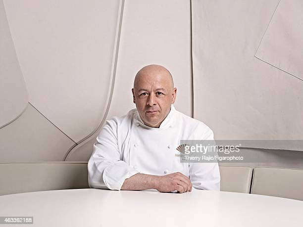 Chef Thierry Marx is photographed for Madame Figaro on April 10 2012 in Paris France PUBLISHED IMAGE CREDIT MUST READ Thierry...