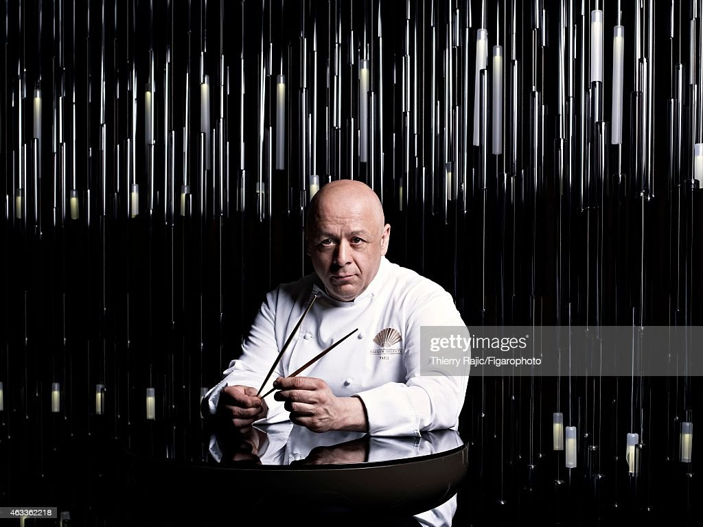 Chef <a gi-track='captionPersonalityLinkClicked' href=/galleries/search?phrase=Thierry+Marx&family=editorial&specificpeople=4584729 ng-click='$event.stopPropagation()'>Thierry Marx</a> is photographed for Madame Figaro on April 10, 2012 in Paris, France.